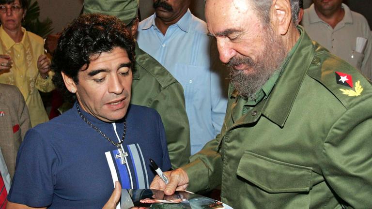 Maradona így akart öngyilkos lenni Kubában
