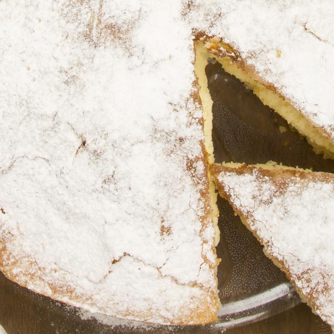 Mennyei, citromos-mandulás kevert sütemény: alig kell hozzá valami