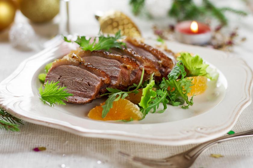 Ünnepi narancsos kacsamell: szaftos és omlós lesz a hús