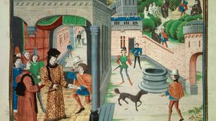 Oklevél megetetése hirtelen felindulásból? A középkorban semmitől nem riadtak vissza