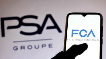 A negyedik legnagyobb autógyártó jön létre a Fiat−Chrysler és a PSA egyesülésével