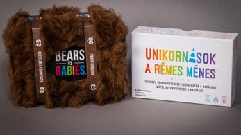 Pusztító unikornisok, medvékkel a babák ellen