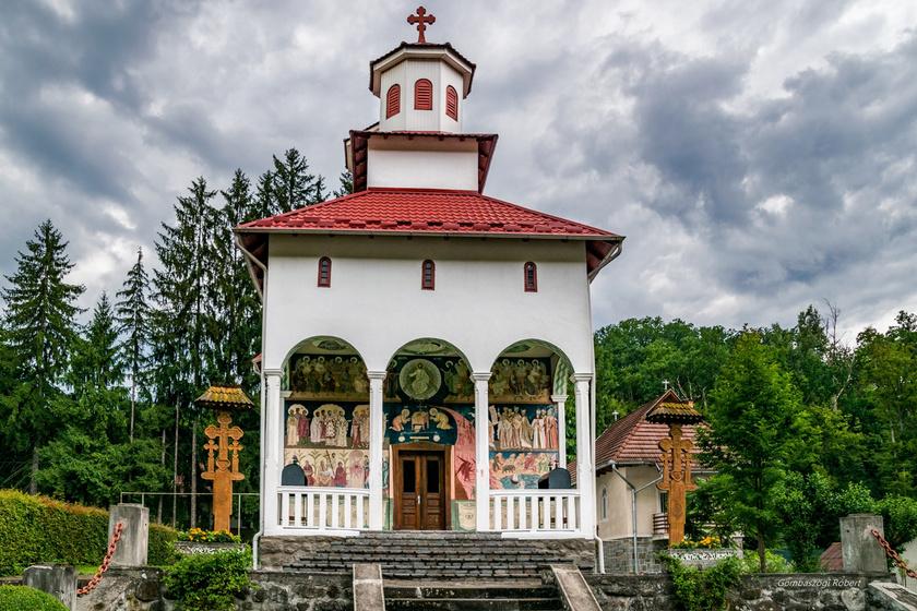 Ortodox templom, Szováta.