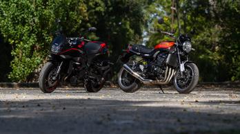 Összehasonlító: Suzuki Katana vs. Kawasaki Z900RS