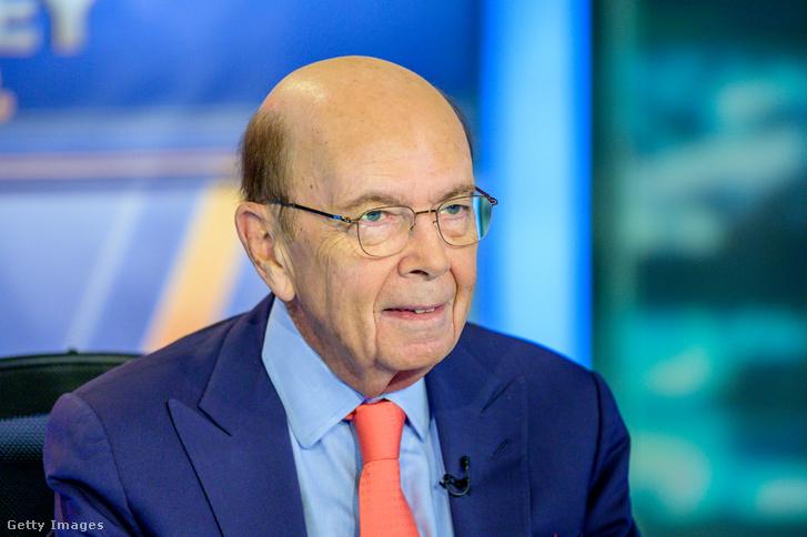 Wilbur Ross amerikai kereskedelmi miniszter