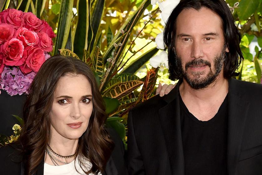 Keanu Reeves nem volt hajlandó így bánni Winona Ryderrel a forgatáson: ennyire jólelkű a színész