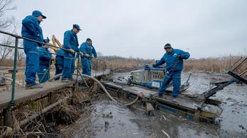 45 ezer liter szennyezett vizet szippantottak ki a Dunából