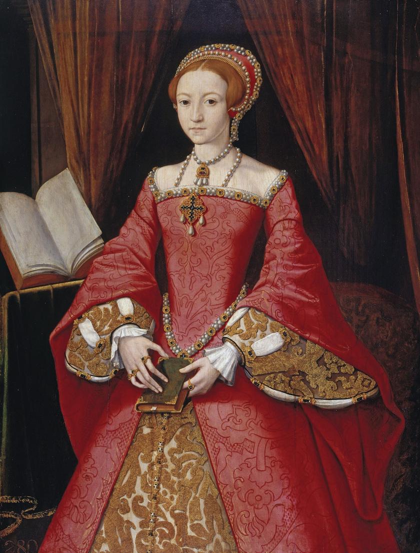 I. Erzsébet hercegnőként, 1546 körül.