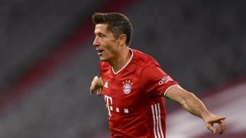 Lewandowski szerint őt nem lehet egy szinten említeni Messivel és Ronaldóval