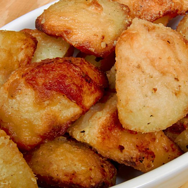 Extra ropogós, isteni sütőben sült krumpli – Zsírban készül a burgonya