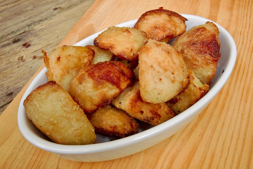 zsírban sült krumpli recept