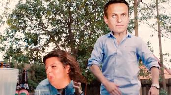 Beindult az orosz mémgyár Alekszej Navalnij kék alsónadrágjára