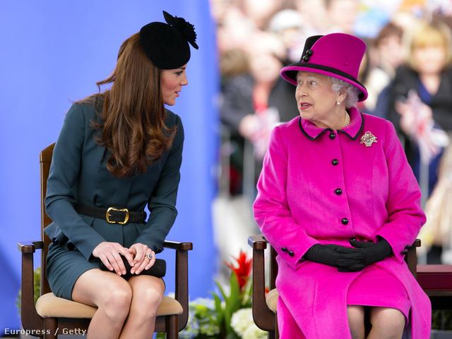 II. Erzsébet dédnagymama lesz.