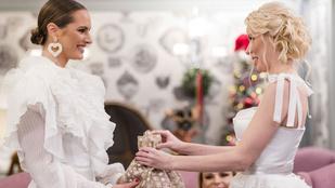 Cselédezésbe, parasztozásba torkollott a luxusfeleségek karácsonyi ajándékozása