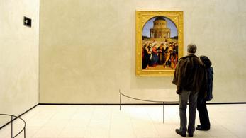 Másolatban újra látható eredeti helyén Raffaello egyik fő műve, a Mária eljegyzése