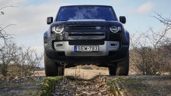 Teszt: Land Rover Defender 110 D240