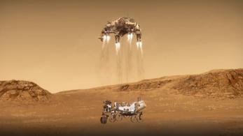 Nem olyan egyszerű ám landolni a Marson