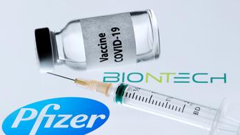 4,6 millió adagot kap a Pfizer és a BioNtech vakcinájából Spanyolország