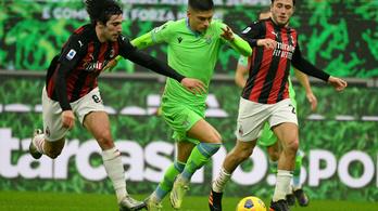 Drámai végjáték, karácsonykor is a Milan a Serie A tabellájának élén