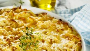 Sült tökkel finom és még egészségesebb a sajtos makaróni