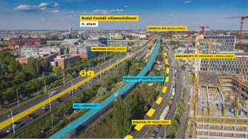 Aláírták a megállapodást a budai fonódó villamoshálózat folytatásáról