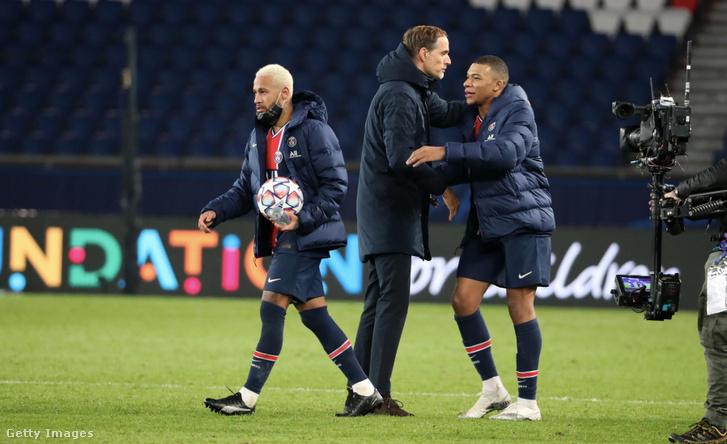 Neymar, Tuchel és Mbappé