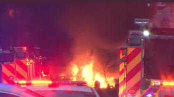 Hatalmas robbanás rázta meg Nashville városát