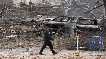 Emberi maradványok is lehetnek a nashville-i robbantás közelében