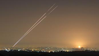 Izrael titkos rakétagyártó üzemet és Hamász-bázisokat bombázott