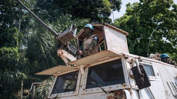 Békefenntartók halála a Közép-afrikai Köztársaságban