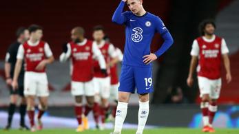 A városi rivális Chelsea ellen támadt fel a gödörben lévő Arsenal