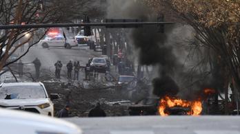 Öngyilkos merénylet lehetett a karácsonyi nashville-i robbantás