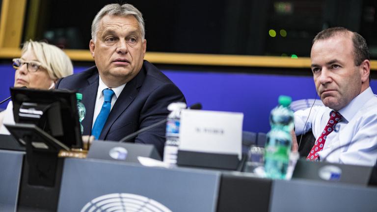Manfred Weber szerint Orbán Viktor le akarja rombolni Európát