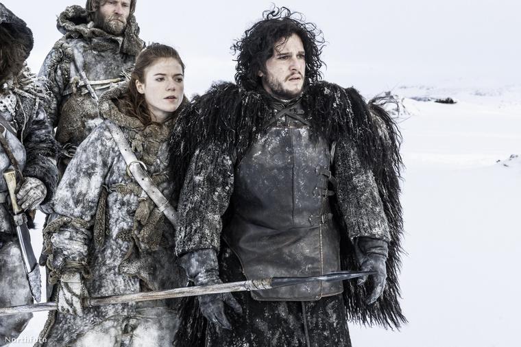 Az élet és a szupernépszerű fikció találkozása volt, amikor a Trónok harca című sorozat Ygritte és Jon Snow nevű szereplői, úgy egyébként szerelmesek, összejöttek