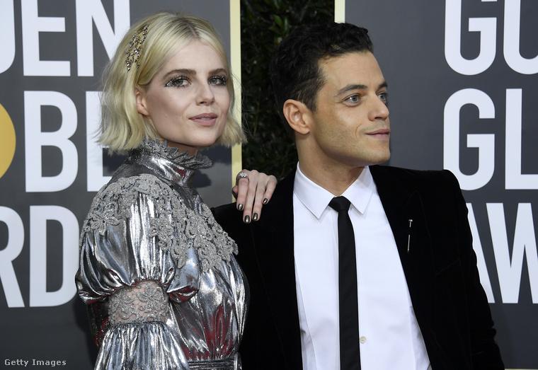 Ezt sokáig titkolták, de elég árulkodó pillanat volt, amikor Malek a (Freddie Mercury megformálásáért kapott) Oscarja átvételekor megcsókolta a színésznőt