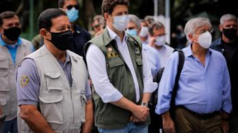 Végigsöpör a koronavírus a brazil kormányon