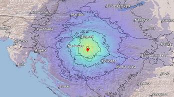 Magyarországon is érezni lehetett a horvátországi földrengést