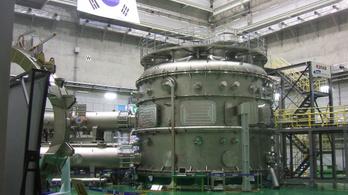 Rekordideig tartott a plazma a koreai fúziós reaktorban