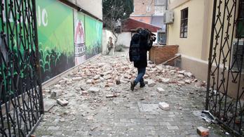 A zágrábi parlament és a katedrális is megrongálódott a földrengésben