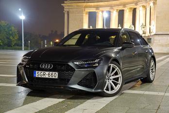 Audi RS6: mindenen át, könyörtelenül