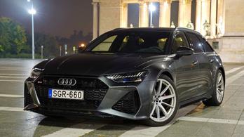 Teszt: Audi RS6 - 2020.