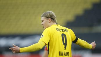 Hétvégén újra számíthat Haalandra a Dortmund