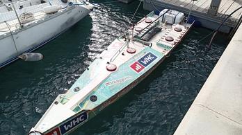 Rakonczay Gábor vízre tette a hajóját, január 5. után vág neki az Atlanti-óceánnak