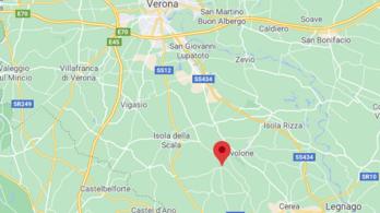 Észak-Olaszországban is többször rengett a föld