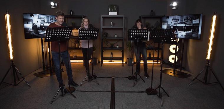 A Birtoklények szereplői: Babicsek Bernát, Tenki Réka és Xantus Barbara