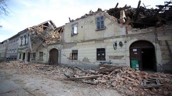 Akadozik a mentőakció Horvátországban az utórengések miatt