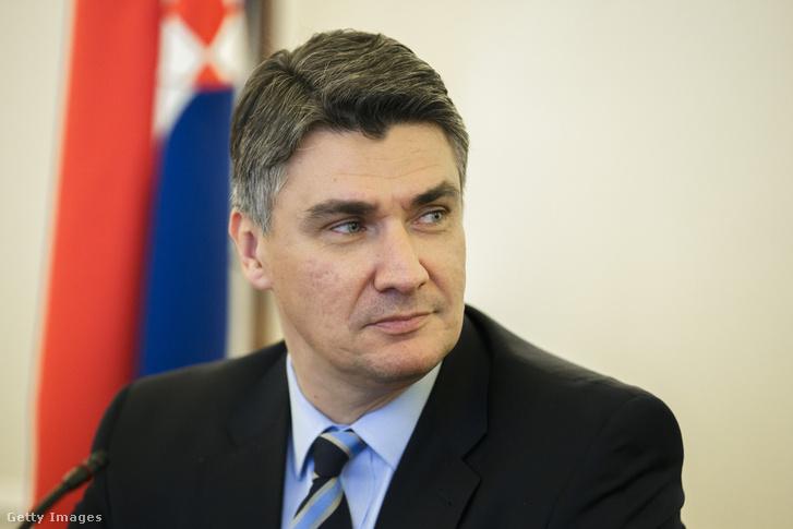 Zoran Milanović horvát államelnök