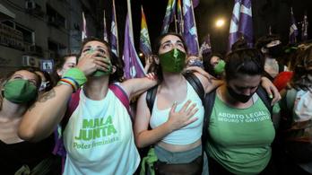 Legalizálták az abortuszt Argentínában