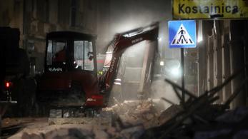 Külügy: nincs magyar érintettje a horvátországi földrengésnek