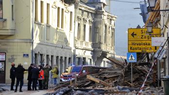 Magyarországon is okozott károkat a horvát földrengés